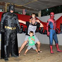 August 27 Super Hero Weekend
