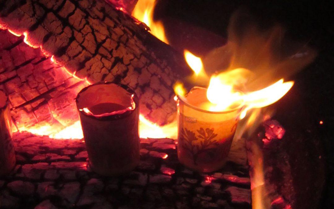 Campfire Boiled Egg
