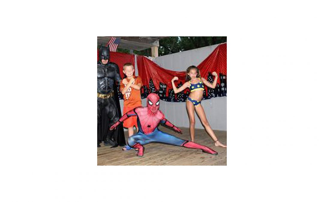 August 23 Super Hero Weekend